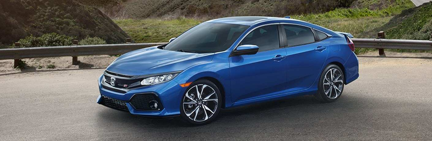 2019 Honda Civic Si Sedan Exterior Driver Side Front Profile