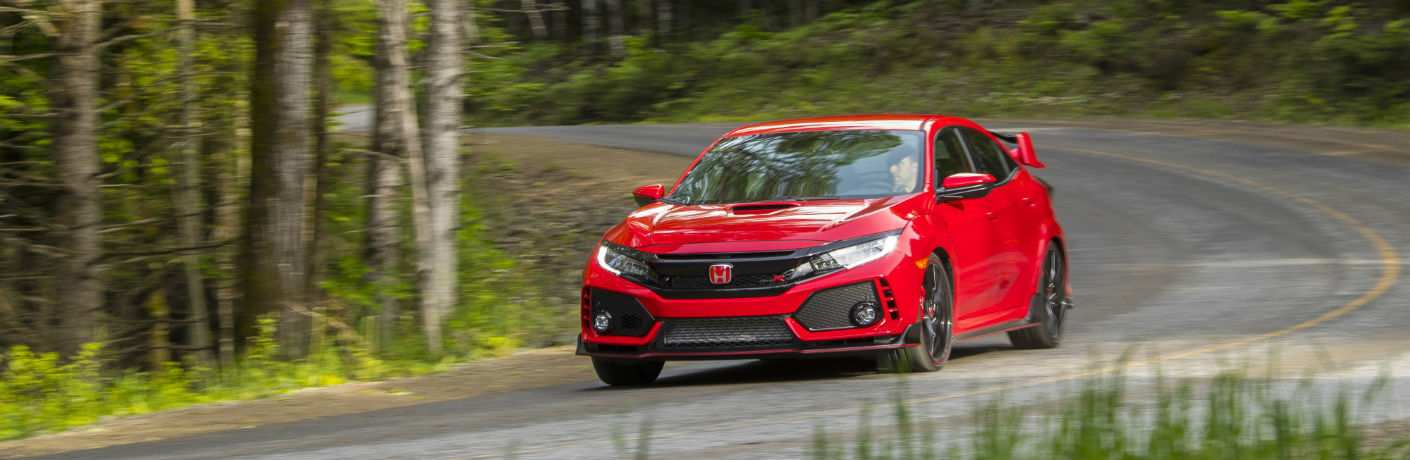 2019 Honda Civic Type R Exterior Driver Side Front Angle