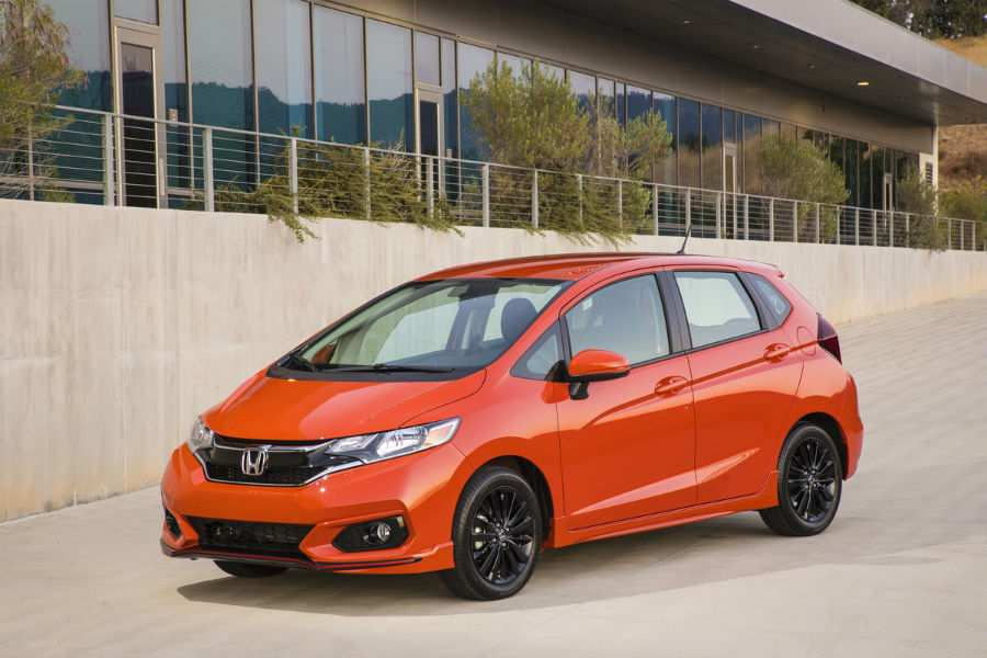 2019 Honda Fit Exterior Driver Side Front Profile