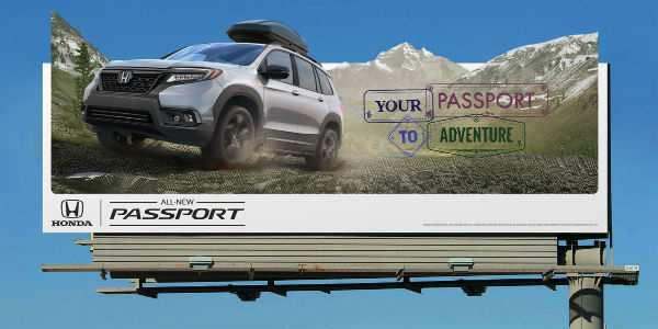 2019 Honda Passport Billboard Example