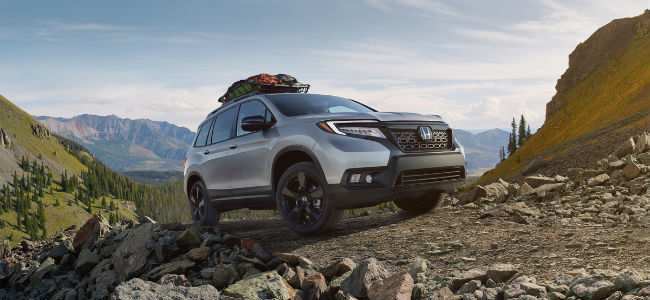 2019 Honda Passport Exterior Passenger Side Front with Accessory Roof Rack